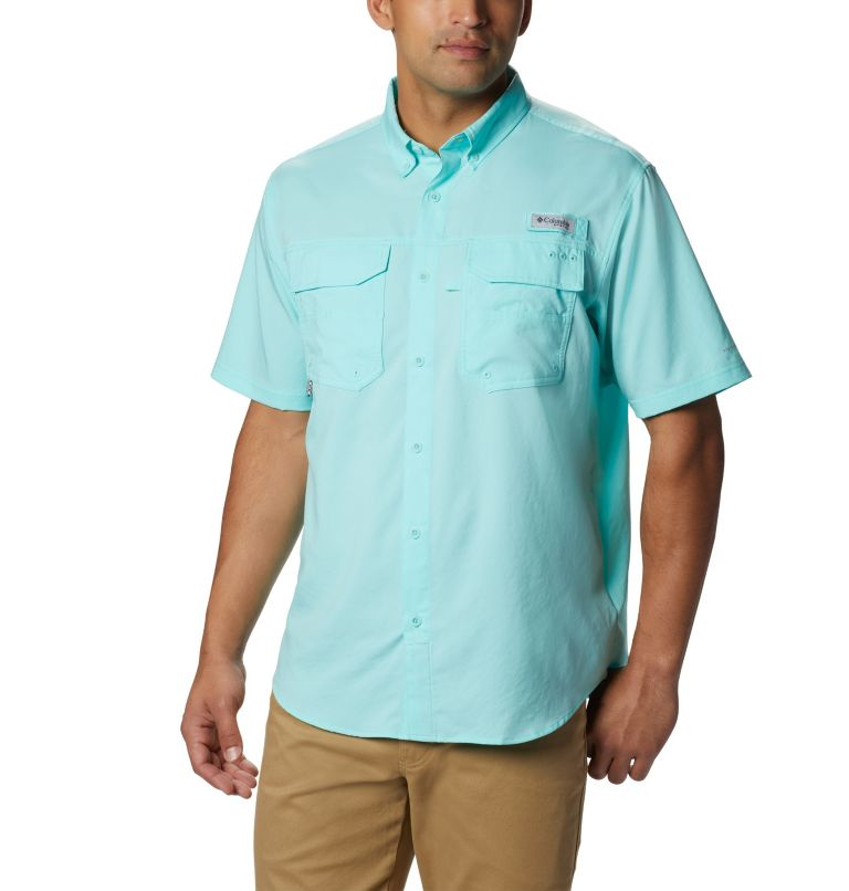 Men's PFG Blood and Guts™ III Short Sleeve Woven Shirt Men's PFG Blood and Guts™ III Short Sleeve Woven Shirt, front