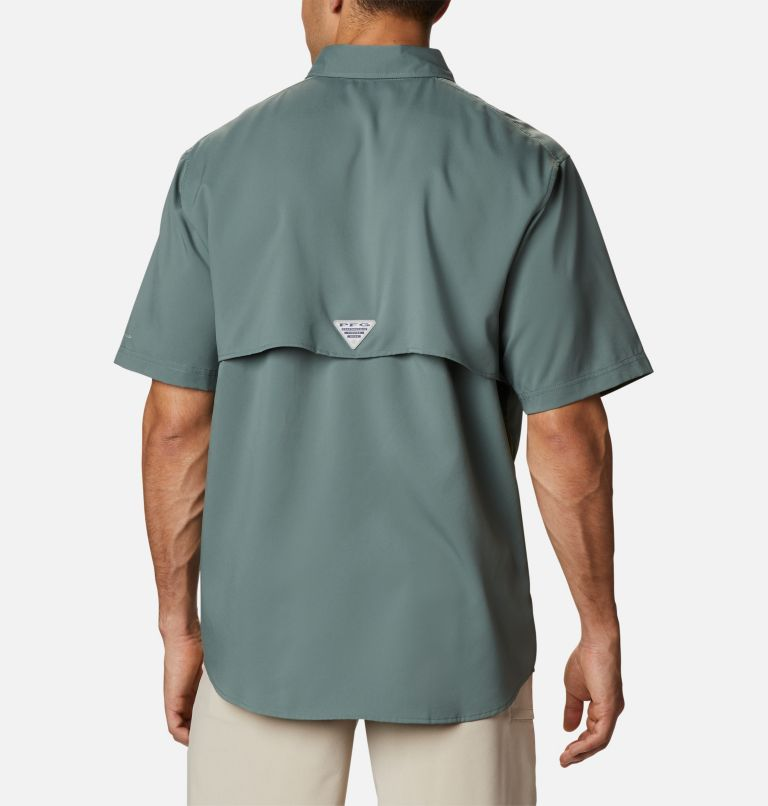 Blood and Guts™ III Short Sleeve Woven | 967 | S Men's PFG Blood and Guts™ III Short Sleeve Woven Shirt, Pond, back