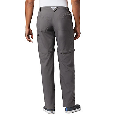 Men's PFG Blood 'N Guts™ III Convertible Pants - Big Blood and Guts™ III Convertible Pant | 337 | 54, City Grey, back