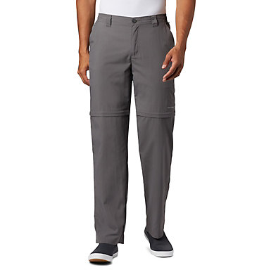 Men's PFG Blood 'N Guts™ III Convertible Pants - Big Blood and Guts™ III Convertible Pant | 337 | 54, City Grey, front