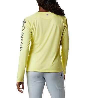 Women's PFG Tidal Tee™ II Long Sleeve Shirt Tidal Tee™ II Long Sleeve | 759 | XS, Sunnyside, City Grey Logo, back