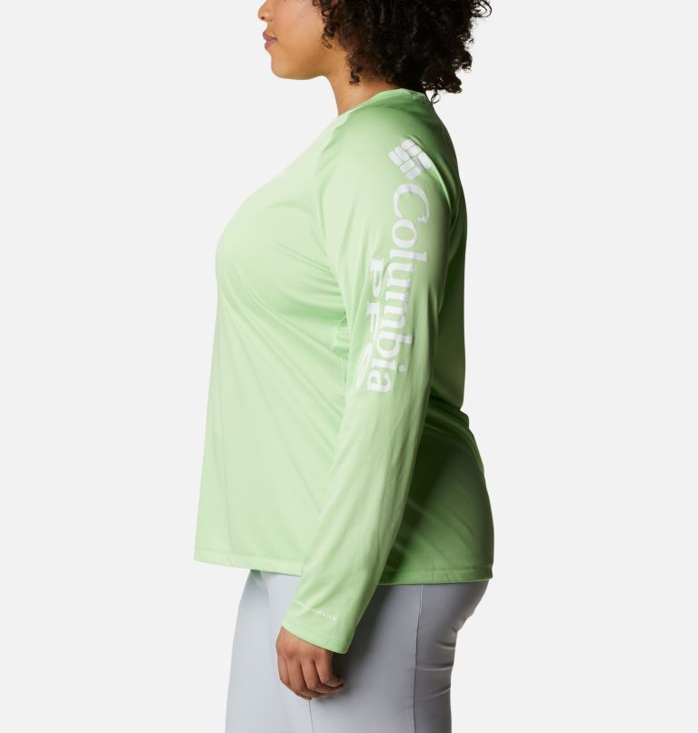 Women's PFG Tidal Tee™ II Long Sleeve - Plus Size Women's PFG Tidal Tee™ II Long Sleeve - Plus Size, a1