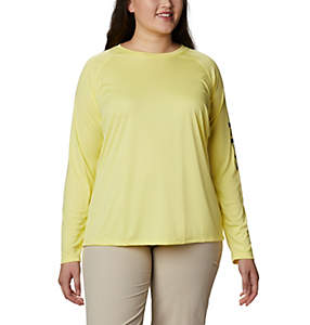 Women's PFG Tidal Tee™ II Long Sleeve - Plus Size