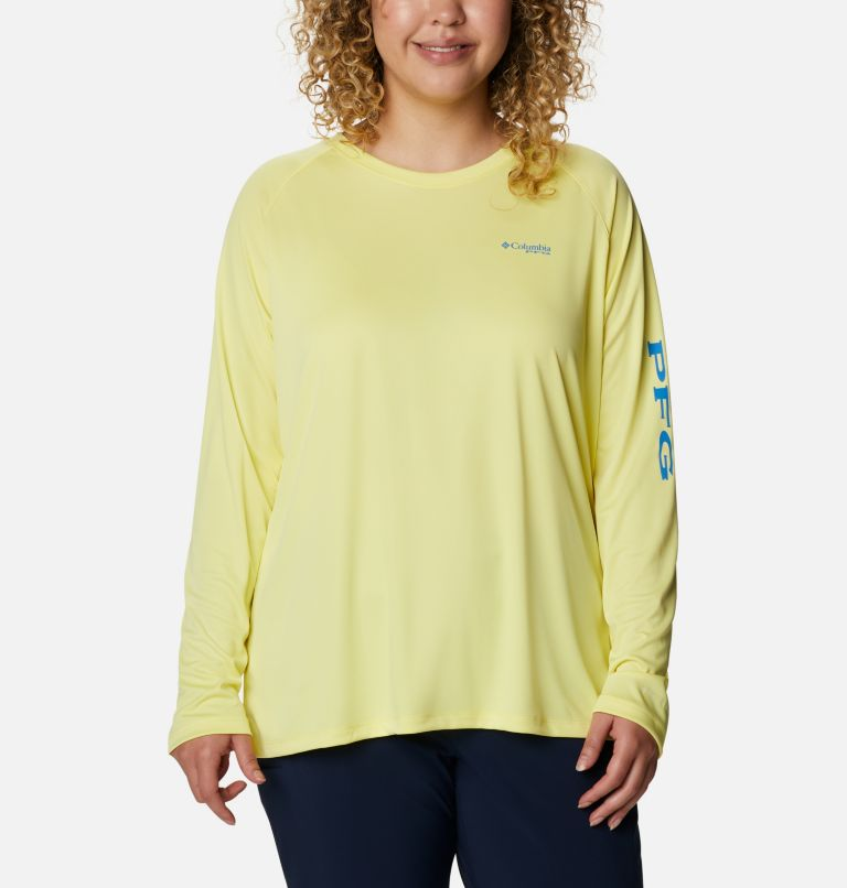 Women's PFG Tidal Tee™ II Long Sleeve - Plus Size Women's PFG Tidal Tee™ II Long Sleeve - Plus Size, front