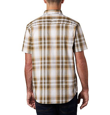Men's Rapid Rivers™ II Short Sleeve Shirt Rapid Rivers™ II Short Sleeve Shirt | 463 | L, Crouton Ombre Plaid, back