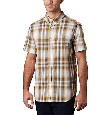 Men's Rapid Rivers™ II Short Sleeve Shirt Rapid Rivers™ II Short Sleeve Shirt | 463 | L, Crouton Ombre Plaid, front