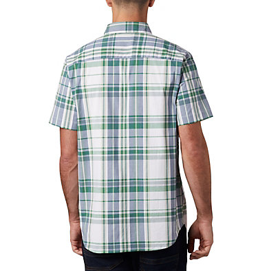 Men's Rapid Rivers™ II Short Sleeve Shirt Rapid Rivers™ II Short Sleeve Shirt | 463 | L, True Green Large Plaid, back