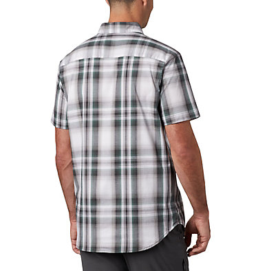 Men's Rapid Rivers™ II Short Sleeve Shirt Rapid Rivers™ II Short Sleeve Shirt | 463 | L, Thyme Green Ombre Plaid, back