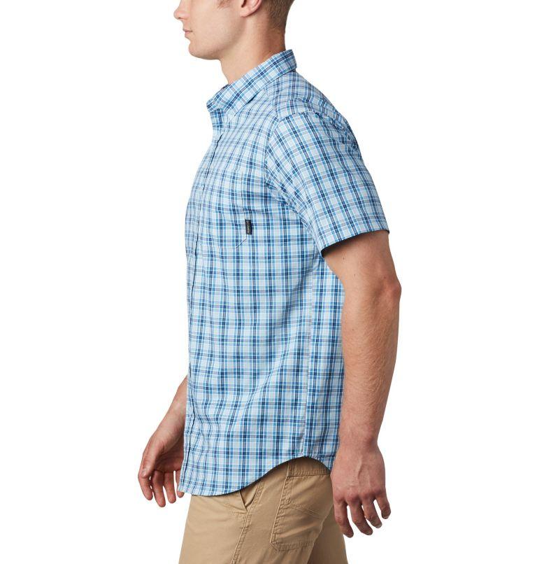 Rapid Rivers™ II Short Sleeve Shirt | 463 | S Men's Rapid Rivers™ II Short Sleeve Shirt, Azure Blue Mini Gingham Plaid, a2