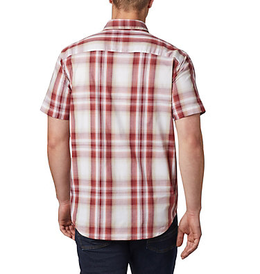 Men's Rapid Rivers™ II Short Sleeve Shirt Rapid Rivers™ II Short Sleeve Shirt | 463 | L, Red Jasper Ombre Plaid, back
