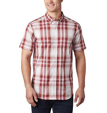Men's Rapid Rivers™ II Short Sleeve Shirt Rapid Rivers™ II Short Sleeve Shirt | 465 | L, Red Jasper Ombre Plaid, front