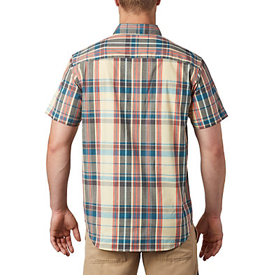 Men's Rapid Rivers™ II Short Sleeve Shirt Rapid Rivers™ II Short Sleeve Shirt | 463 | L, Cane Large Plaid, back