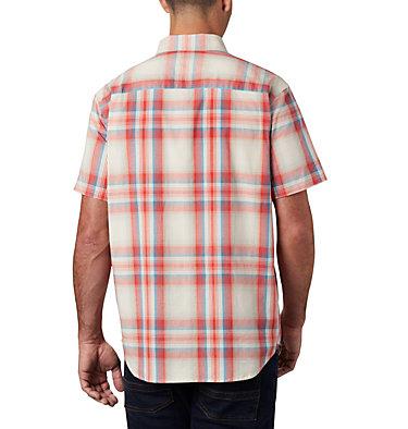 Men's Rapid Rivers™ II Short Sleeve Shirt - Tall Rapid Rivers™ II Short Sleeve Shirt | 845 | 2XT, Wildfire Ombre Plaid, back