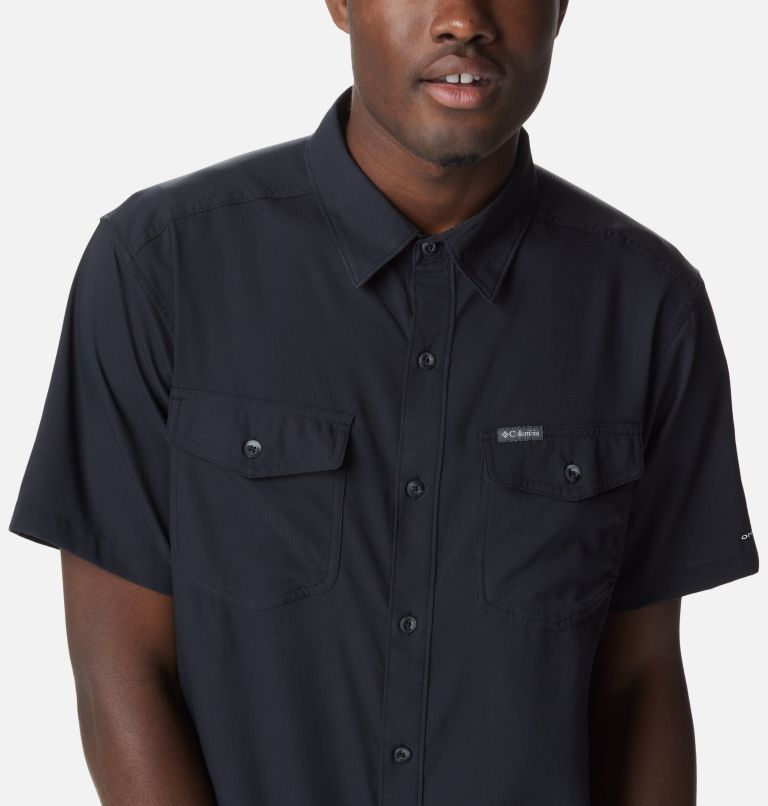 Utilizer™ II Solid Short Sleeve Shirt | 010 | L Men's Utilizer™ II Solid Short Sleeve Shirt, Black, a2