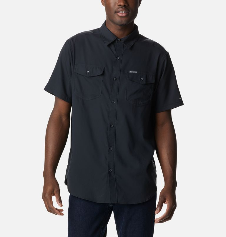 Utilizer™ II Solid Short Sleeve Shirt | 010 | L Men's Utilizer™ II Solid Short Sleeve Shirt, Black, a3