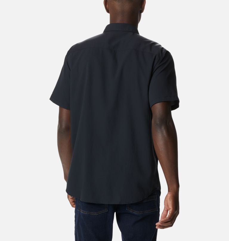 Utilizer™ II Solid Short Sleeve Shirt | 010 | L Men's Utilizer™ II Solid Short Sleeve Shirt, Black, back