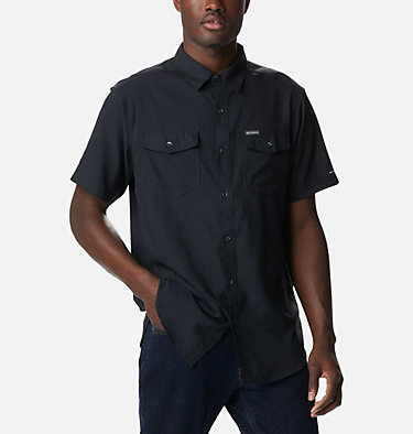 Men's Utilizer™ II Solid Short Sleeve Shirt Utilizer™ II Solid Short Sleeve Shirt | 464 | L, Black, front