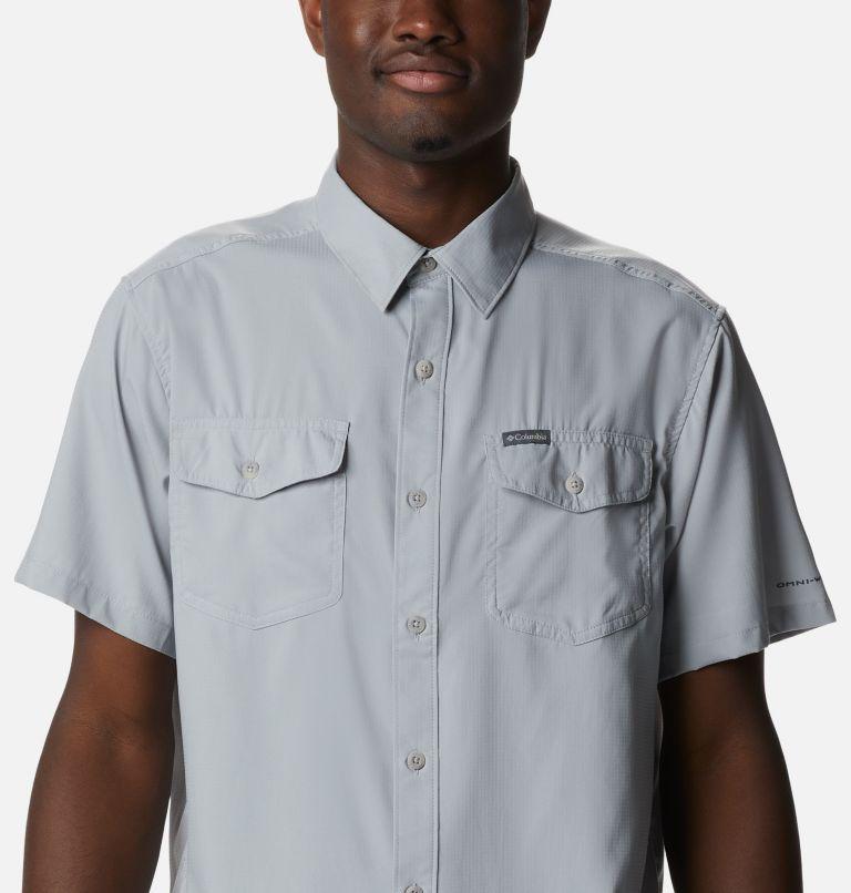 Utilizer™ II Solid Short Sleeve Shirt | 039 | M Men's Utilizer™ II Solid Short Sleeve Shirt, Columbia Grey, a2