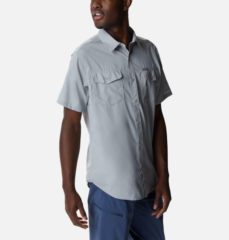 Utilizer™ II Solid Short Sleeve Shirt | 039 | M Men's Utilizer™ II Solid Short Sleeve Shirt, Columbia Grey, a3