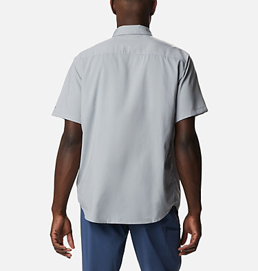 Men's Utilizer™ II Solid Short Sleeve Shirt Utilizer™ II Solid Short Sleeve Shirt | 464 | L, Columbia Grey, back