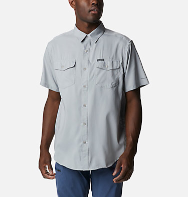 Men's Utilizer™ II Solid Short Sleeve Shirt Utilizer™ II Solid Short Sleeve Shirt | 464 | L, Columbia Grey, front