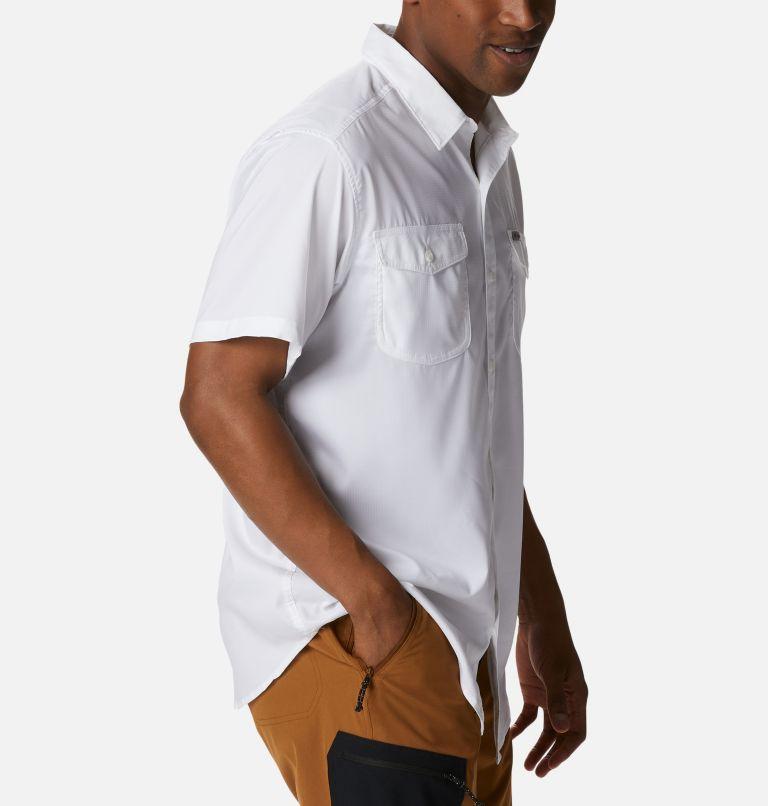Utilizer™ II Solid Short Sleeve Shirt | 100 | XL Men's Utilizer™ II Solid Short Sleeve Shirt, White, a3