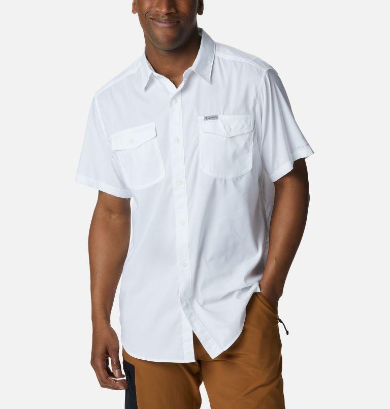 Utilizer™ II Solid Short Sleeve Shirt | 100 | XL Men's Utilizer™ II Solid Short Sleeve Shirt, White, front