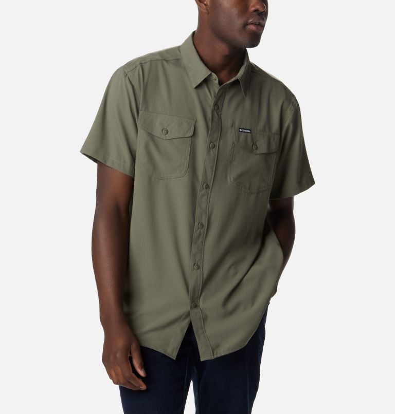 Men's Utilizer™ II Solid Short Sleeve Shirt Men's Utilizer™ II Solid Short Sleeve Shirt, a3