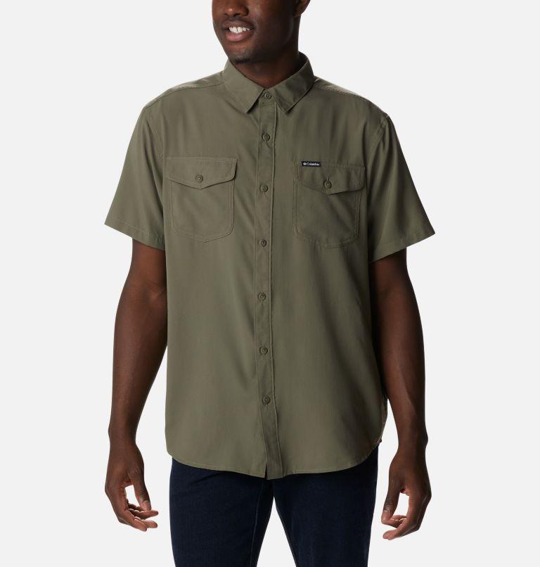 Men's Utilizer™ II Solid Short Sleeve Shirt Men's Utilizer™ II Solid Short Sleeve Shirt, front
