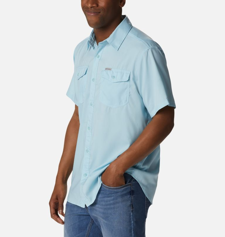 Utilizer™ II Solid Short Sleeve Shirt   427   XXL Men's Utilizer™ II Solid Short Sleeve Shirt, Sky Blue, a1