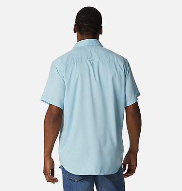 Men's Utilizer™ II Solid Short Sleeve Shirt Utilizer™ II Solid Short Sleeve Shirt | 464 | L, Sky Blue, back