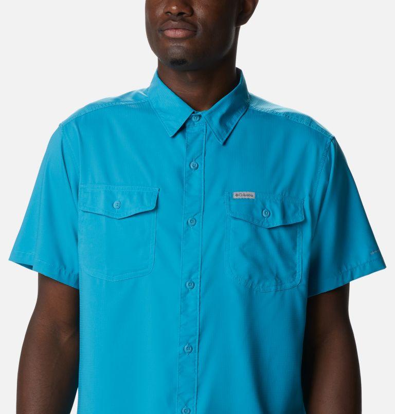 Utilizer™ II Solid Short Sleeve Shirt | 451 | XXL Men's Utilizer™ II Solid Short Sleeve Shirt, Clear Water, a2