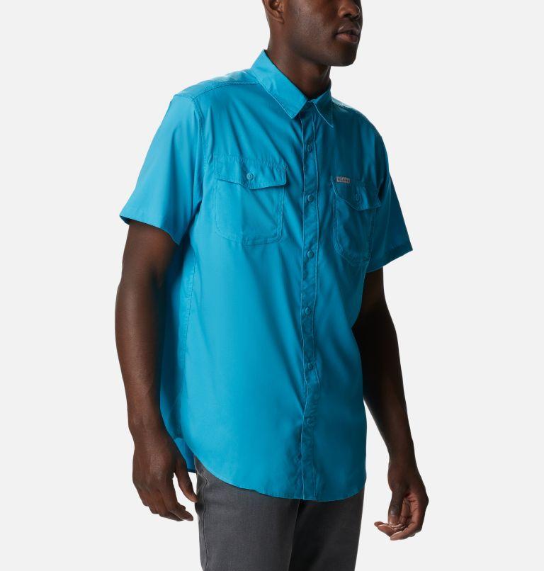 Utilizer™ II Solid Short Sleeve Shirt | 451 | XXL Men's Utilizer™ II Solid Short Sleeve Shirt, Clear Water, a3