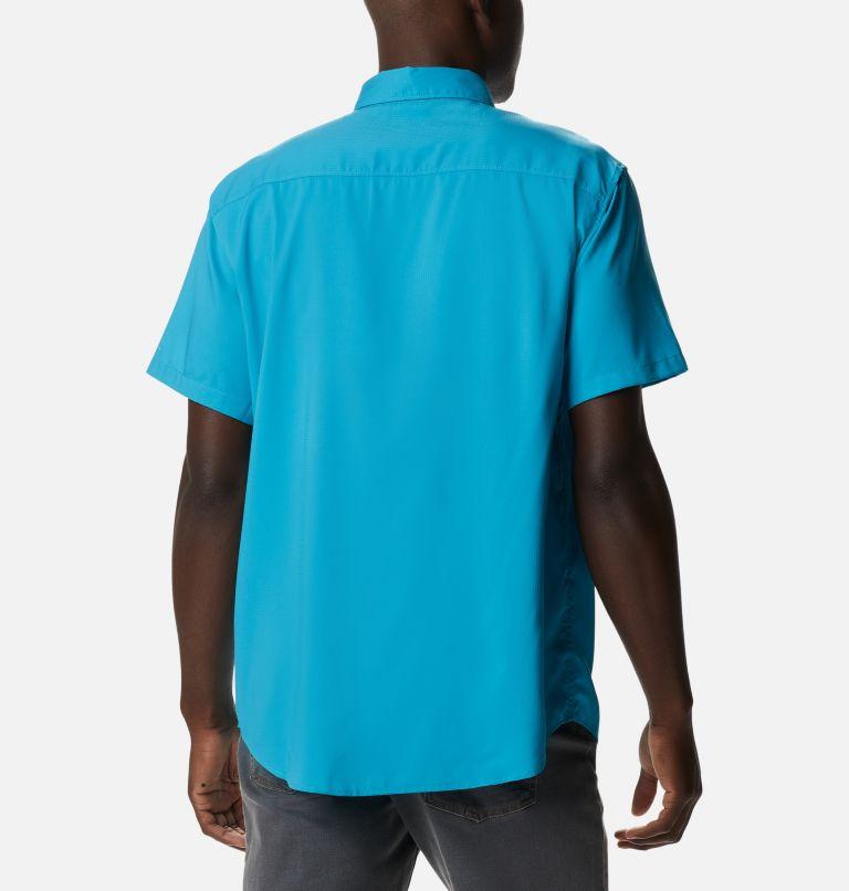 Utilizer™ II Solid Short Sleeve Shirt | 451 | XXL Men's Utilizer™ II Solid Short Sleeve Shirt, Clear Water, back