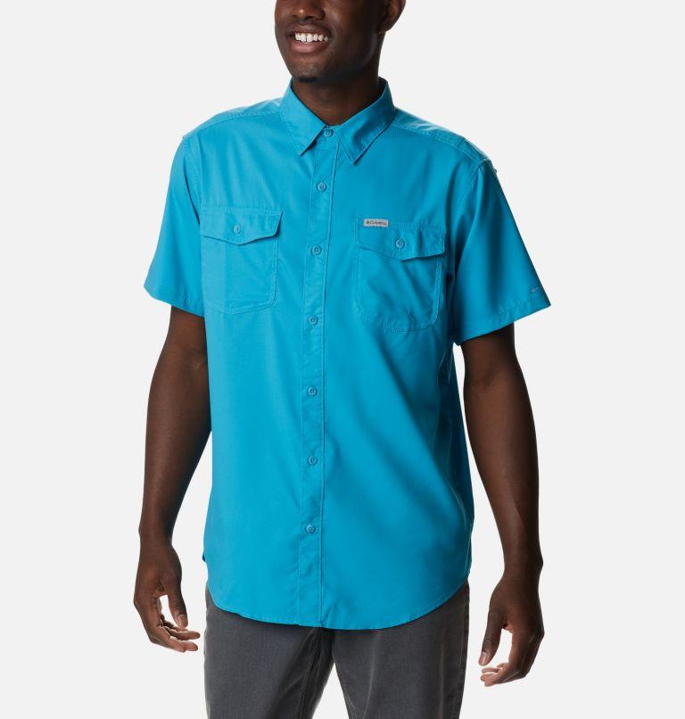 Utilizer™ II Solid Short Sleeve Shirt | 451 | XXL Men's Utilizer™ II Solid Short Sleeve Shirt, Clear Water, front