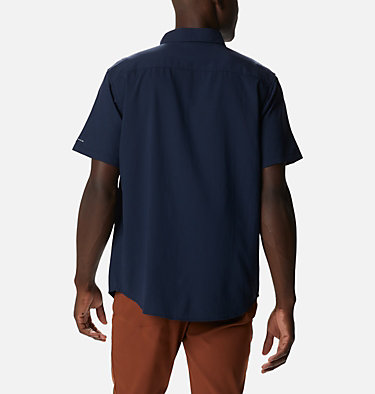 Men's Utilizer™ II Solid Short Sleeve Shirt Utilizer™ II Solid Short Sleeve Shirt | 464 | L, Collegiate Navy, back
