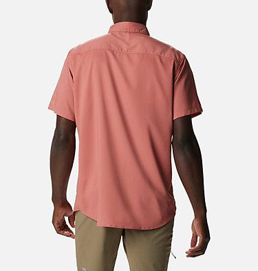 Men's Utilizer™ II Solid Short Sleeve Shirt Utilizer™ II Solid Short Sleeve Shirt   464   L, Dark Coral, back