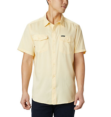Men's Utilizer™ II Solid Short Sleeve Shirt Utilizer™ II Solid Short Sleeve Shirt | 464 | L, Cane, front