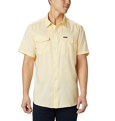 Men's Utilizer™ II Solid Short Sleeve Shirt Utilizer™ II Solid Short Sleeve Shirt   464   L, Cane, front