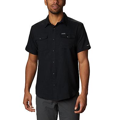 Men's Utilizer™ II Solid Short Sleeve Shirt – Big Utilizer™ II Solid Short Sleeve Shirt | 464 | 1X, Black, front