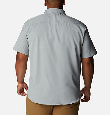 Men's Utilizer™ II Solid Short Sleeve Shirt – Big Utilizer™ II Solid Short Sleeve Shirt | 464 | 1X, Columbia Grey, back