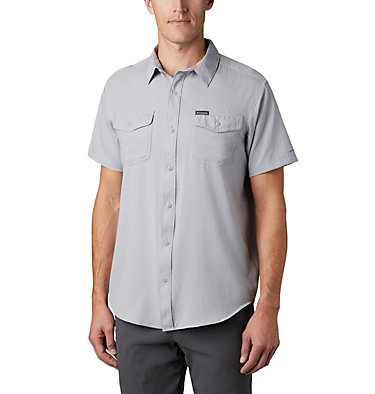 Men's Utilizer™ II Solid Short Sleeve Shirt – Big Utilizer™ II Solid Short Sleeve Shirt | 464 | 1X, Columbia Grey, front