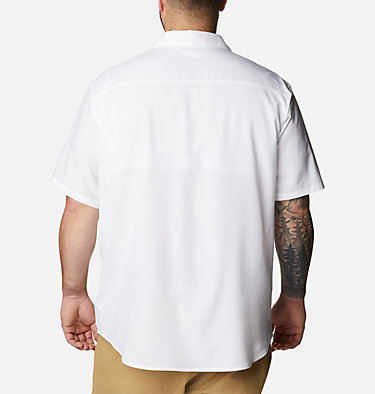 Men's Utilizer™ II Solid Short Sleeve Shirt – Big Utilizer™ II Solid Short Sleeve Shirt | 464 | 1X, White, back