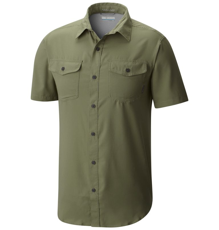 Utilizer™ II Solid Short Sleev | 316 | 2X Chemise à manches courtes Utilizer™ II pour homme , Cypress, front