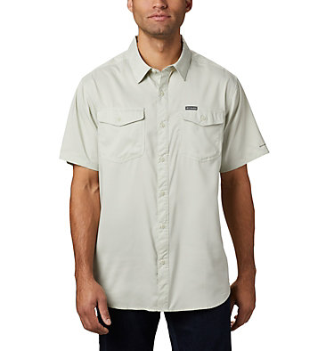 Men's Utilizer™ II Solid Short Sleeve Shirt – Big Utilizer™ II Solid Short Sleeve Shirt | 464 | 1X, Pixel, front