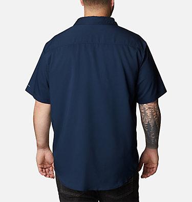 Men's Utilizer™ II Solid Short Sleeve Shirt – Big Utilizer™ II Solid Short Sleeve Shirt | 464 | 1X, Collegiate Navy, back