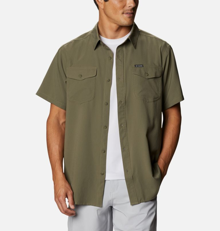 Men's Utilizer™ II Solid Short Sleeve Shirt – Tall Men's Utilizer™ II Solid Short Sleeve Shirt – Tall, front