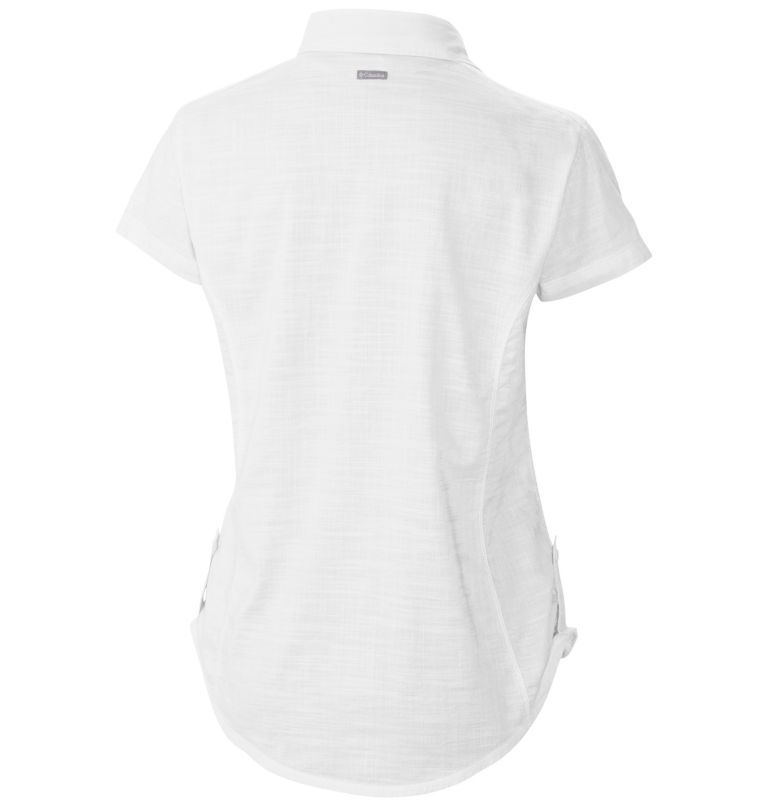 Women's Camp Henry™ Solid Short Sleeve Shirt Women's Camp Henry™ Solid Short Sleeve Shirt, back