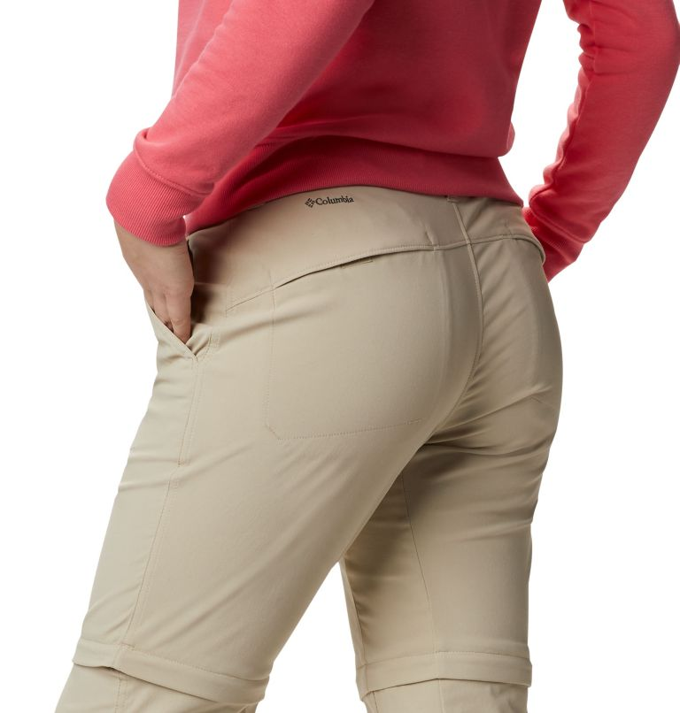 Saturday Trail™ II Convertible Pant | 160 | 6 Pantaloni convertibili Saturday Trail™ II Stretch da donna, Fossil, a3