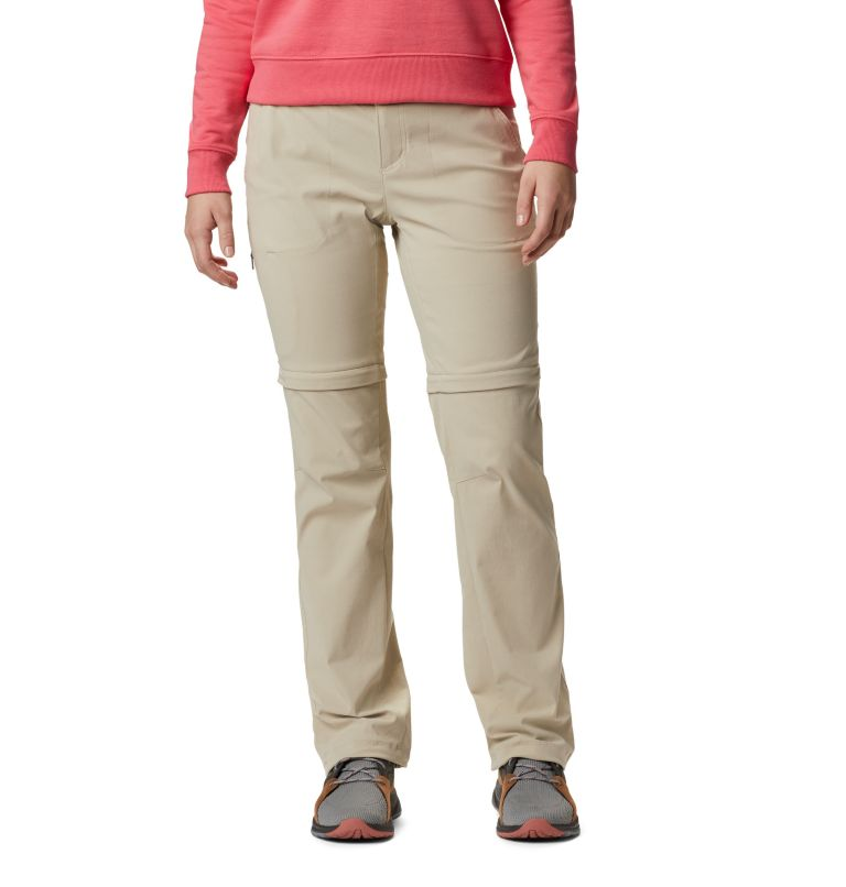 Saturday Trail™ II Convertible Pant | 160 | 6 Pantaloni convertibili Saturday Trail™ II Stretch da donna, Fossil, front